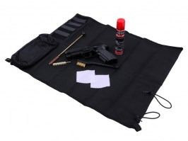 Small service mat (60 x 45cm) - Black [101 INC]
