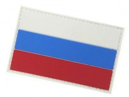 Russian flag 3D PVC patch with velcro [101 INC]
