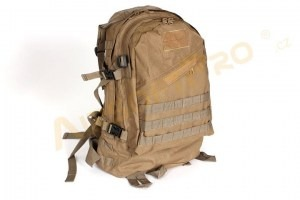 3-Day Molle Assault Backpack Bag 25L - Coyote Brown (CB) [A.C.M.]