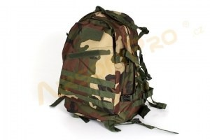 3-Day Molle Assault Backpack Bag 25L - Woodland [A.C.M.]