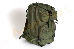 Military 3P Traveling Backpack 13L - Olive [A.C.M.]