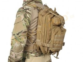 Military 3P Traveling Backpack 13L - Coyote Brown (CB) [A.C.M.]