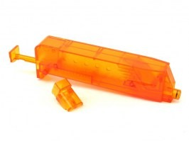 Airsoft 90-100 BBs speed magazine loader - orange [6mm Proshop]