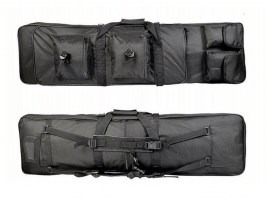 Twin assault rifle carrying bag - 60 and 100cm - black [A.C.M.]