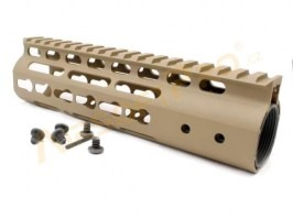 "Keymod style Float 7"" Hand Guard - DE [Big Dragon]"