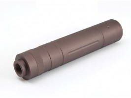 Metal Silencer 145 x 31mm - brown [A.C.M.]