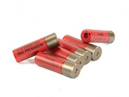 Shells for the spring shotguns, 6 pcs - red [CYMA]