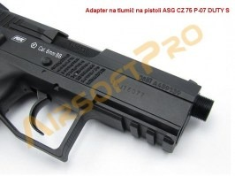 Airsoft pistol CZ 75 P-07 DUTY S. CO2 [ASG]