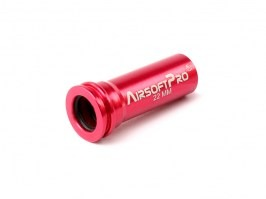 DOUBLE sealing aluminium nozzle for M4 / M16 - 22 mm, long [AirsoftPro]