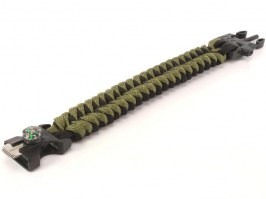 Outdoor paracord survival bracelet [AirsoftPro]