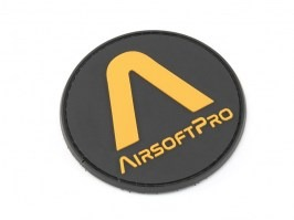 PVC 3D AirsoftPro patch - rounded [AirsoftPro]