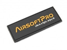 PVC 3D AirsoftPro patch - rectangle [AirsoftPro]