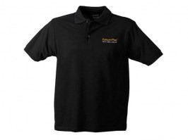 Men's Polo Shirt AirsoftPro - black [Elevate]