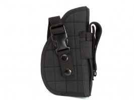 Universal tactical belt or MOLLE pistol holster - black [AITAG]