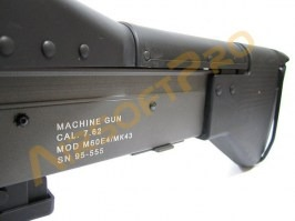 Airsoft machine gun Light M60 E4 MK43 [A&K]