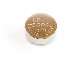 Alkaline button battery 1,5V AG3 / LR41 [-]