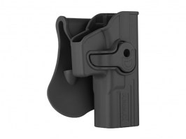 Tactical polymer holster for G-series - black [Amomax]