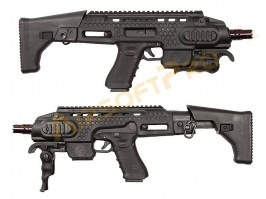 Caribe Action Combat Carbine Kit - Black [APS]