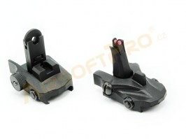 R-Type Athena set of folding RIS luminous sights [APS]