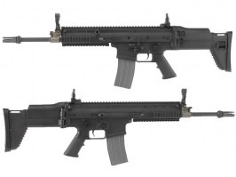 Airsoft rifle SCAR-L (AR-062E) with EFCS - black [Ares/Amoeba]