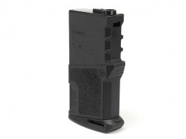 Mid-Cap 120 rds Polymer High Grade short magazine for M4 AEG - Black [Ares/Amoeba]