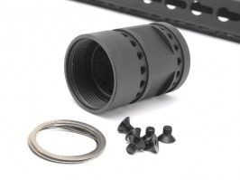 "Octarms™ Keymod style Float 13,5"" CNC Hand Guard - black [Ares/Amoeba]"