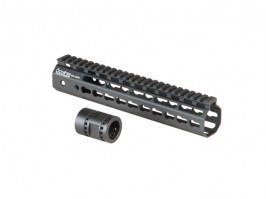 "Octarms™ Keymod style Float 10"" CNC Hand Guard - black [Ares/Amoeba]"