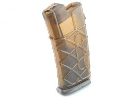 AUG AEG magazine - 330 Rounds, transparent, OD base plate [Army]