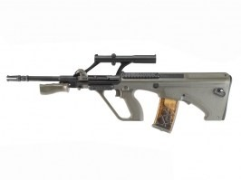 Airsoft rifle AUG Carbine LE R903 - Military Model, OD [Army]