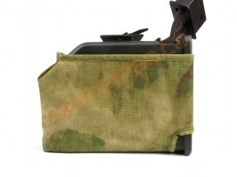 M249 ammo box camouflage cover - A-TACS FG [AS-Tex]