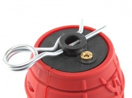 165 BBs Storm Grenade 360 - red colour [ASG]