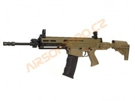 Airsoft rifle CZ 805 BREN A1 with MOSFET - Desert [ASG]