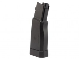 Hi-cap 375 rds polymer magazine for ASG Scorpion EVO 3 A1 - black [ASG]