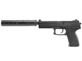 Airsoft pistol MK23 Special Operation with silencer, gas [ASG]