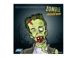 Cardboard target Zombie nation 14 x 14 cm No.4, 10pcs [ASG]