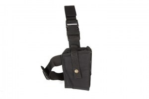 Drop leg holster with double lock Gen.2 - black [AS-Tex]