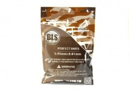 Airsoft BBs BLS BIO Ultimate Heavy 0,40g 1000pcs - white [BLS]