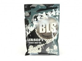 Airsoft BBs BLS BIO Ultimate Heavy 0,45g 1000pcs - white [BLS]