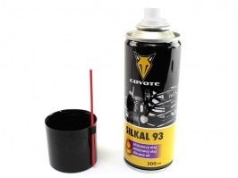 SILKAL 93 Silicon oil (200ml) [Coyote]