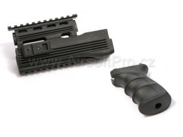 Railed Hand Guard & Tactical Grip for AK47 [CYMA]