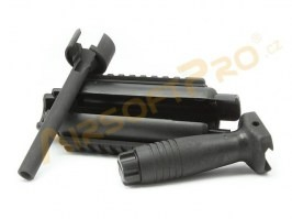 Large battery RIS foregrip for MP5 [CYMA]