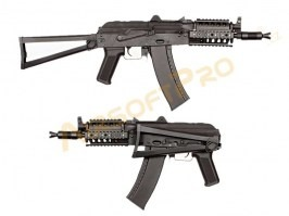 Airsoft rifle AKS-74UN RAS - full metal (CM.045C) [CYMA]