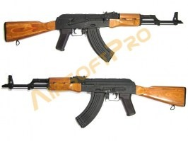 Airsoft rifle AKM - Steel, laminated wood (CM.048M) [CYMA]