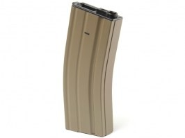 Metal hicap 350 rounds magazine for M4,M16 - TAN [CYMA]