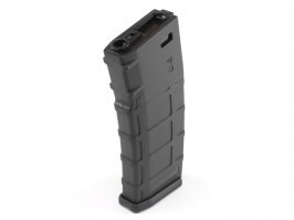 Hi-Cap 300 rds Polymer High Grade magazine for M4 AEG - Black [E&C]