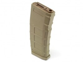 Hi-Cap 300 rds Polymer High Grade magazine for M4 AEG - TAN [E&C]