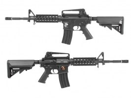 Airsoft rifle M4 R.I.S with the QD gearbox v 1.5 - black (EC-308) [E&C]