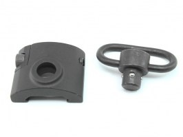 QD sling mount with the RIS mount base - black [Element]