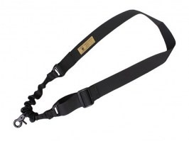 Single point bungee rifle sling - black [EmersonGear]