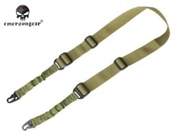 2-point bungee rifle sling-green [EmersonGear]